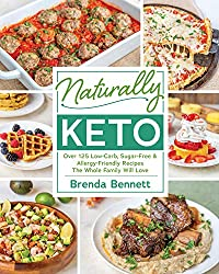 Image of the product Naturally Keto by Brenda that is listed on the catalogue brand of Victory Belt Publishing.