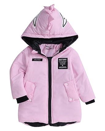 643fbdbdb Kidsform Baby Girl Boy Winter Warm Thick Coat Jacket Zipper Pocket ...