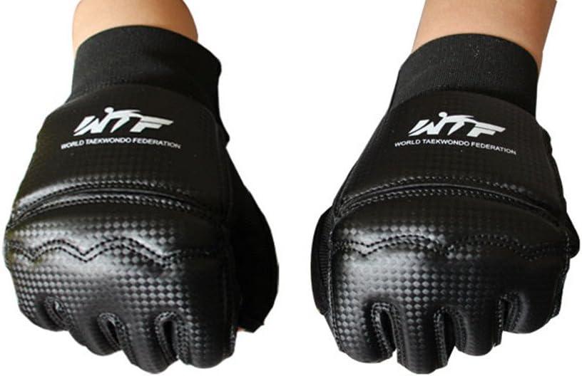 Taekwondo Boxing Training Gloves Half Finger Muay Thai parring Punch Bag
