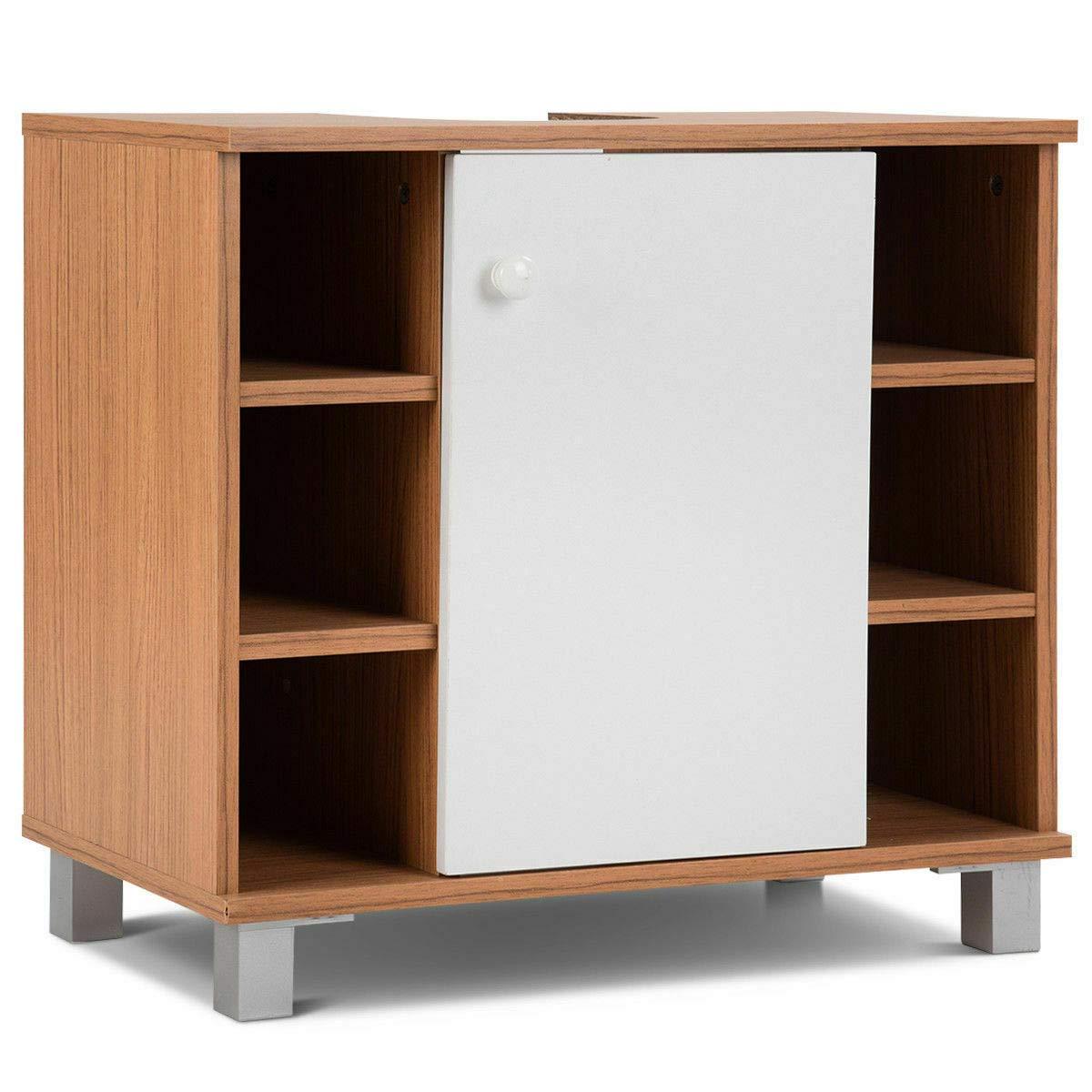Hight Quality Under Sink 6 Cube Cabinet Bathroom Spacesaver Storage Cabinet Vanity Organizer #FDNH