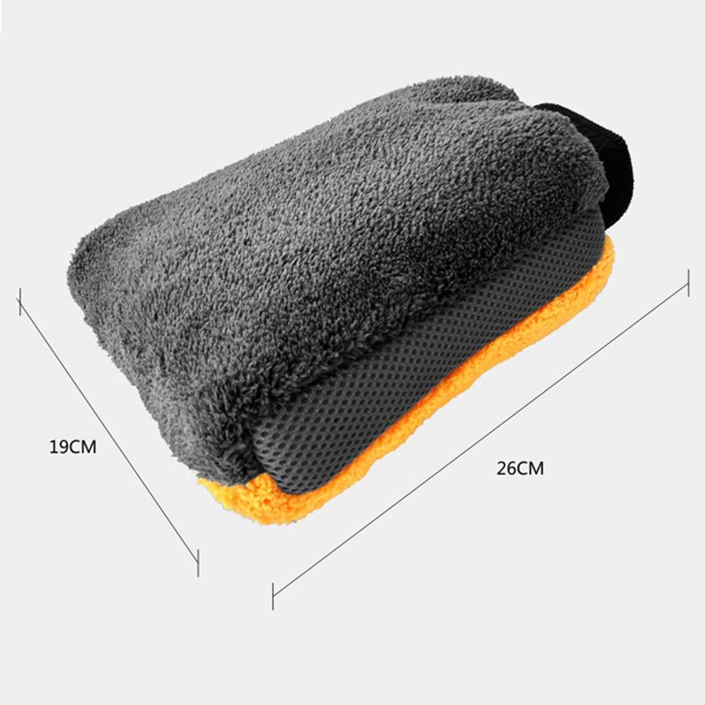 JoyFan Microfibre Nettoyage Mitt Peluche Lavage de Voiture Mitt Maison Gants de Nettoyage de Voiture