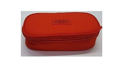 Estuche ovalado Eastpak Limited Editon Smemo Rojo ek71745r: Amazon.es: Oficina y papelería
