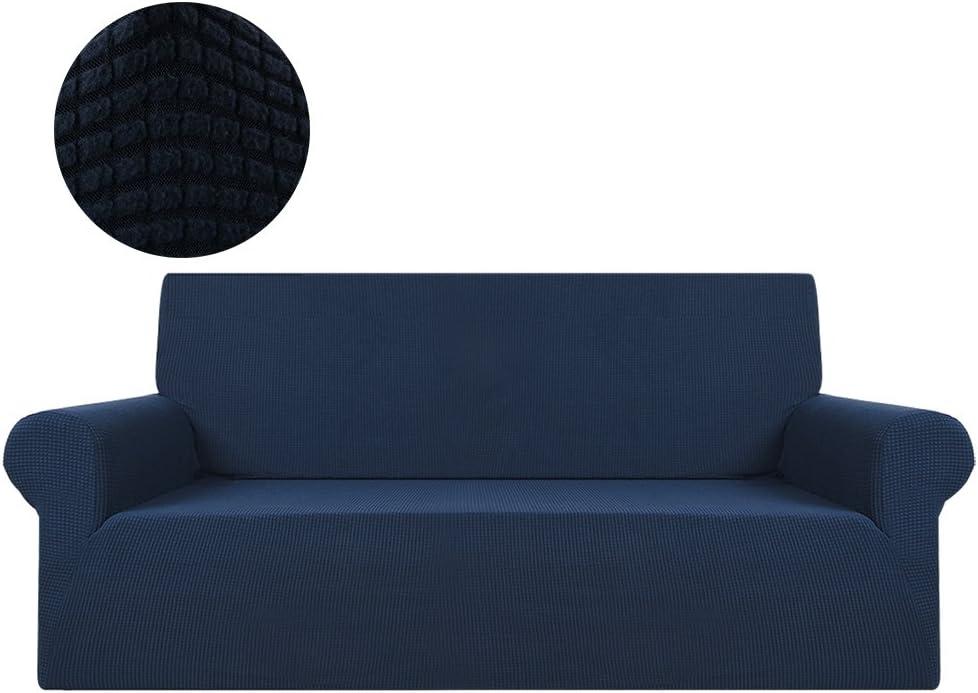 grey-1seat ZhongYeYuanDianZiKeJi Stretch Corner Sofa Slipcovers loose chair Sofa Covers 1-Piece Polyester Spandex Fabric Stretch Slipcovers