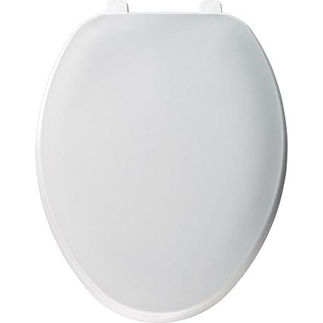 plastic toilet seat covers. Church 170TL 000 Elongated Plastic Toilet Seat with Cover  White