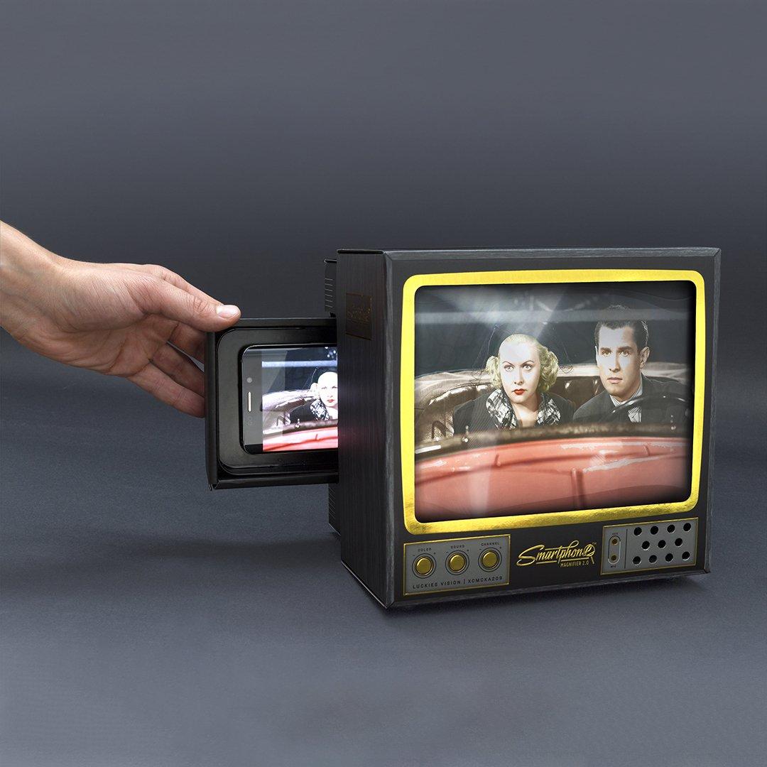 Luckies of London Smartphone Magnifier 2.0 Lo-Fi Lupa Portátil de ...
