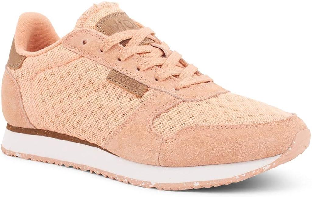 Woden Sneakers Ydun Suede Mesh 606 Pink Sand