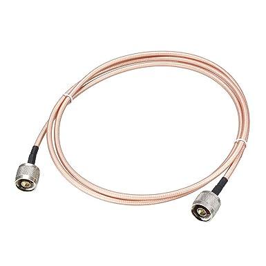 Amazon.com: uxcell RG-142 - Cable coaxial RF de baja pérdida ...