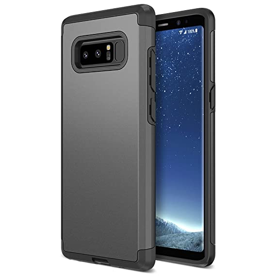 the latest 6661d 23001 Note 8 Case, Trianium Protanium Galaxy Note 8 Case Heavy Duty Case with GXD  Impact Gel (Gunmetal) Extreme Protection Shock-Absorption Tri-Layer ...