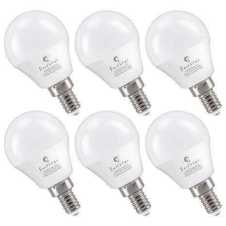 A15 Led Bulbs 6 Watts 60 Watt Replacement E12 Small Candelabra