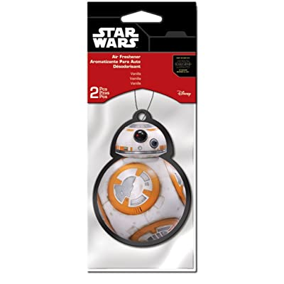Plasticolor 005566R01 Star Wars BB-8 2 Pack Air Fresheners: Automotive