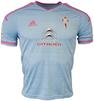 adidas 2014-2015 Celta Vigo Home Football Soccer T-Shirt Camiseta (Kids): Amazon.es: Deportes y aire libre