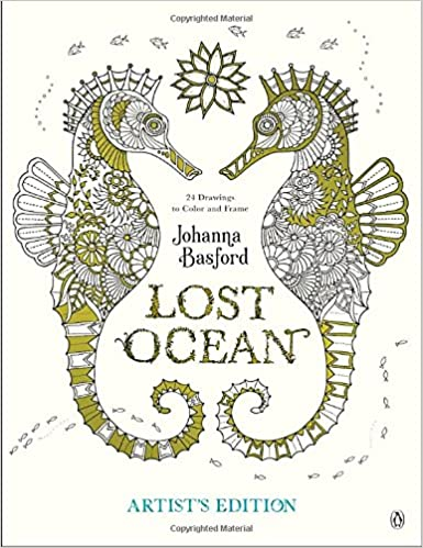Coloring Book For : Amazon.com: lost ocean artists edition: an inky adventure and