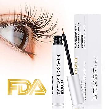 f3f1ad5a622 Amazon.com: Eyelash Serum Eyelash Growth Serum Lash Enhancer Serum Eyelash  Booster for Longer Fuller Eyelashes Eyebrow Enhancer Serum 5ml: Beauty