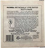 Rectorseal 66335 7-Inch by 7-Inch by 1/8-Inch Metacaulk Fire Rated Putty Pads by Rectorseal