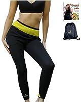 VEOFIT Pantalon de Sudation : Legging minceur - Tonifie et aide à éliminer l'excès d'eau pour une peau plus ferme et une silhouette affinée -Taille XS-XXXL