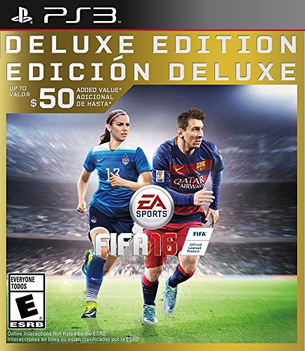 FIFA 16 - Deluxe Edition - PlayStation 3 (Fifa 16 Best Players)