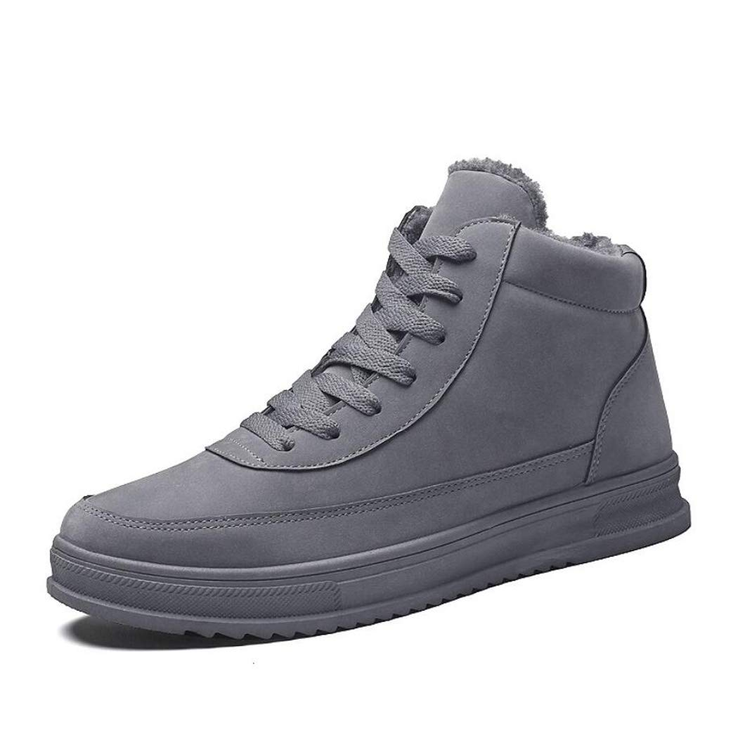 52ecccc185f9 Amazon.com   Zaqxs Mens Black High Top Winter Boots Leather Chelsea Boot  Ankle Boot Waterproof Casual Fashion Shoes for Men   Sports   Outdoors