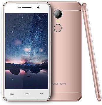 Smartphone Libres Baratos, HOMTOM HT37 Moviles Android 6.0 de 5.0 ...