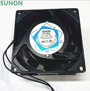 HRSTAR Original SUNON SF11580A 1083HBL.GN Axial Fan AC 115V 80X80X38MM Case Cooling Fan