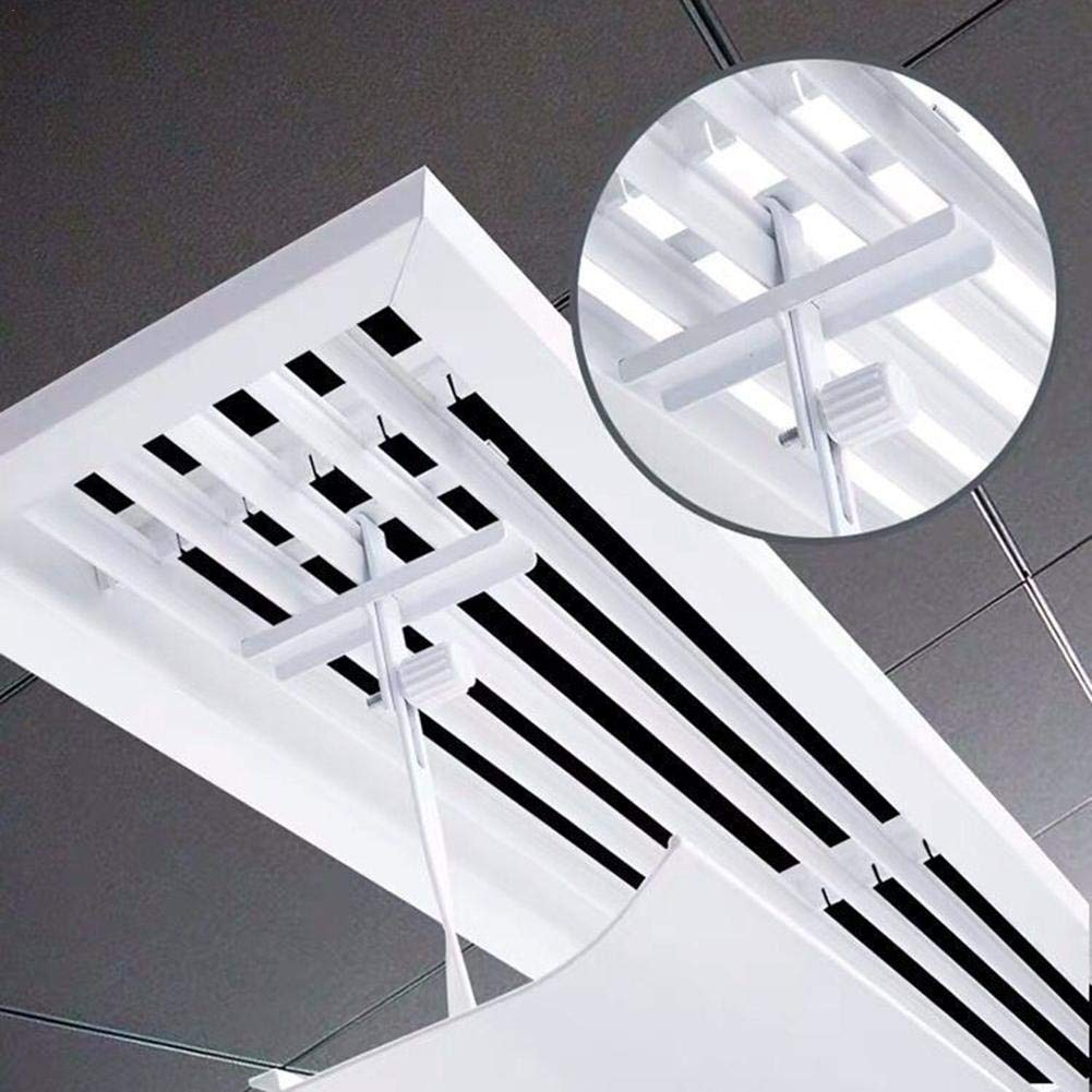 Parabrisas De Aire Acondicionado Central Cubierta De Gu/ía De Aire Deflector De Aire Escudo De Aire Acondicionado Central Aire Acondicionado Central Deflectores Soplado Anti Directo Ajustable 60X21X3cm