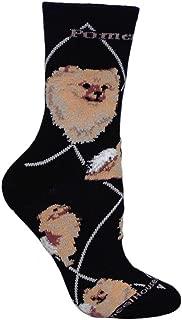 product image for Wheel House Designs Pomeranian Argyle Socks (Shoe size 9-12)