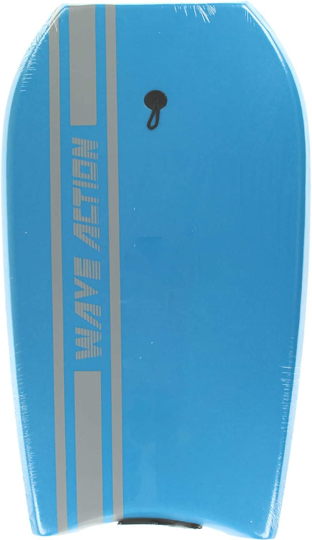 Slick Bottom Bodyboard 33 Blue Wave Action