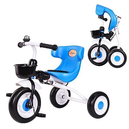 Baby stroller- Triciclo plegable para niños Triciclo para bebés Carrito ligero para bebés (Color