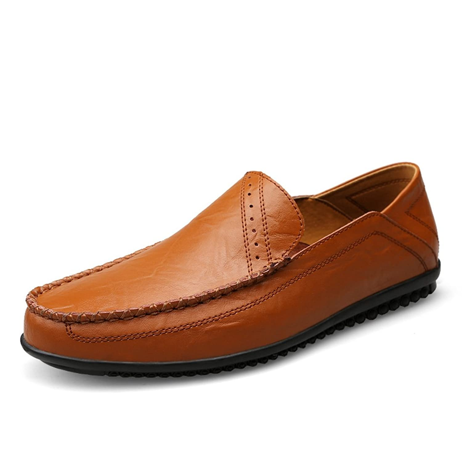 Boy's Men's Simple Solid Slip-Ons Casual Penny Loafers