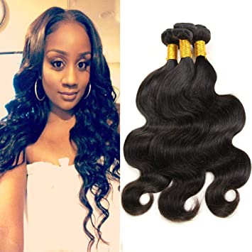 Amazon Com Vonar Hair 9a Brazilian Body Wave Hair 3bundles 10 12