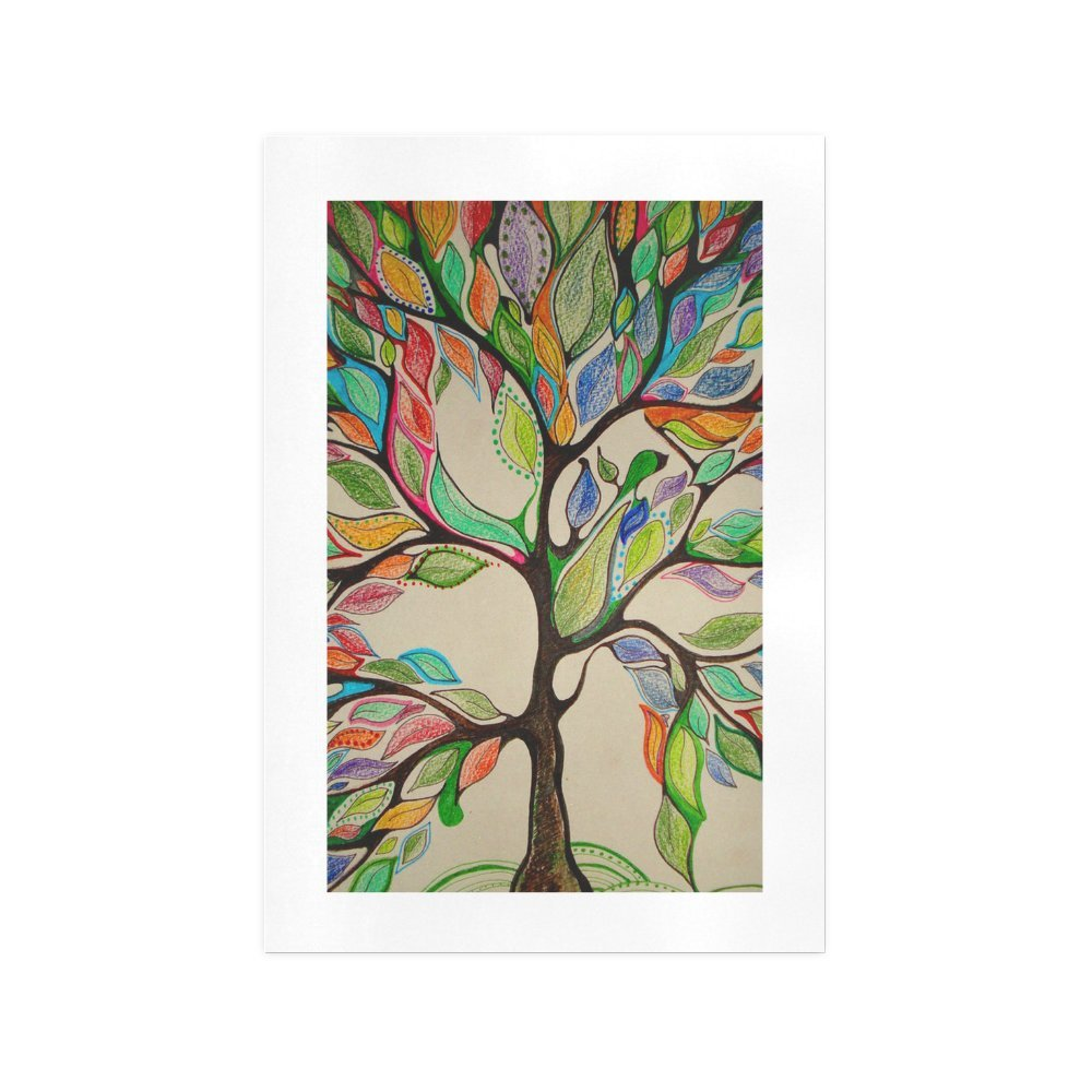 44c3007e740fb Amazon.com: ADEDIY Custom Wall Art Life Tree Painting Art Print 13 ...