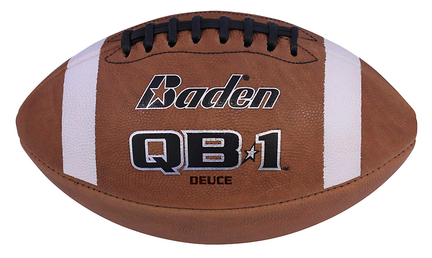 Baden Deuce Official Size 9 Full-Grain Leather Game Football B002OM8X74