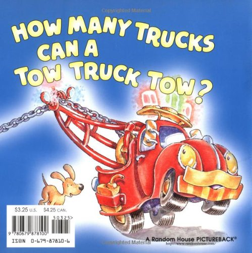 How Many Trucks Can a Tow Truck Tow? (Pictureback(R)) by Random House Books for Young Readers (Image #1)
