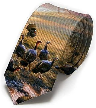 Corbata clásica para hombres, corbatas finas con estampado de ...