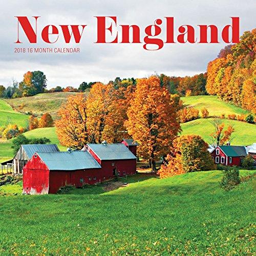 Avalon 2018 New England Wall Calendar, 16 Month Calendar, 12 x 12 inches (84118)