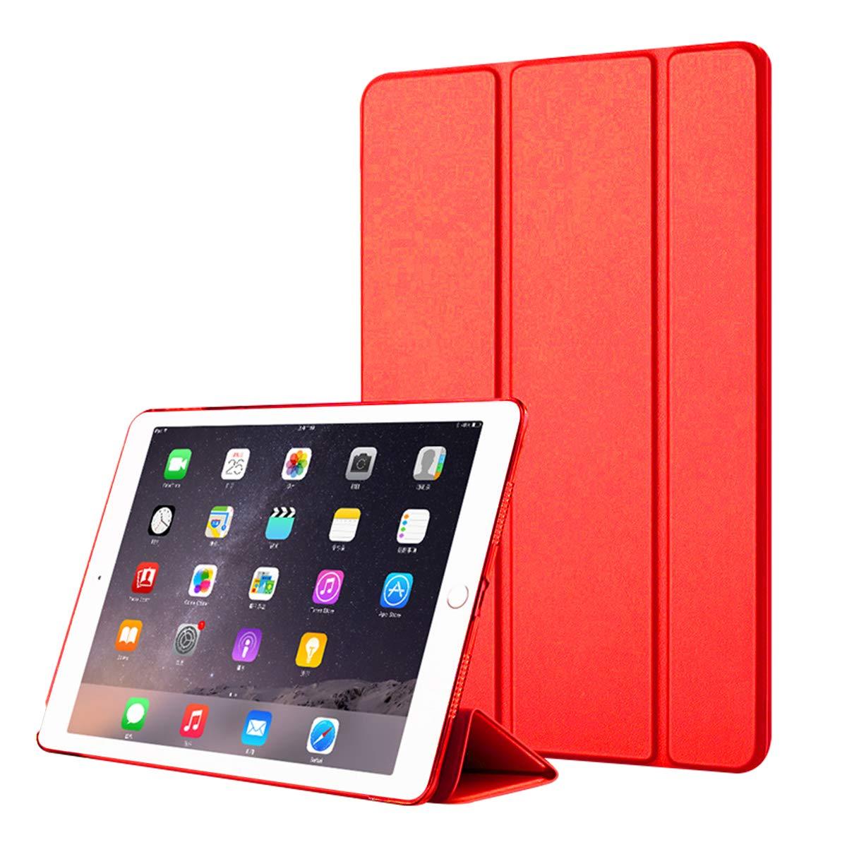 最も信頼できる iPad 11インチ Pro Pro 11インチ 2018ケース プレミアムPUレザー財布ポーチ フリップカバーケース 傷防止ディフェンダーカバーポーチ iPad Pro iPad 11インチ 2018対応 ローズゴールド, レッド, AZMA-GF-848 レッド B07KTXVGL5, ネットオフ ブランド専門館:7c90dae4 --- a0267596.xsph.ru
