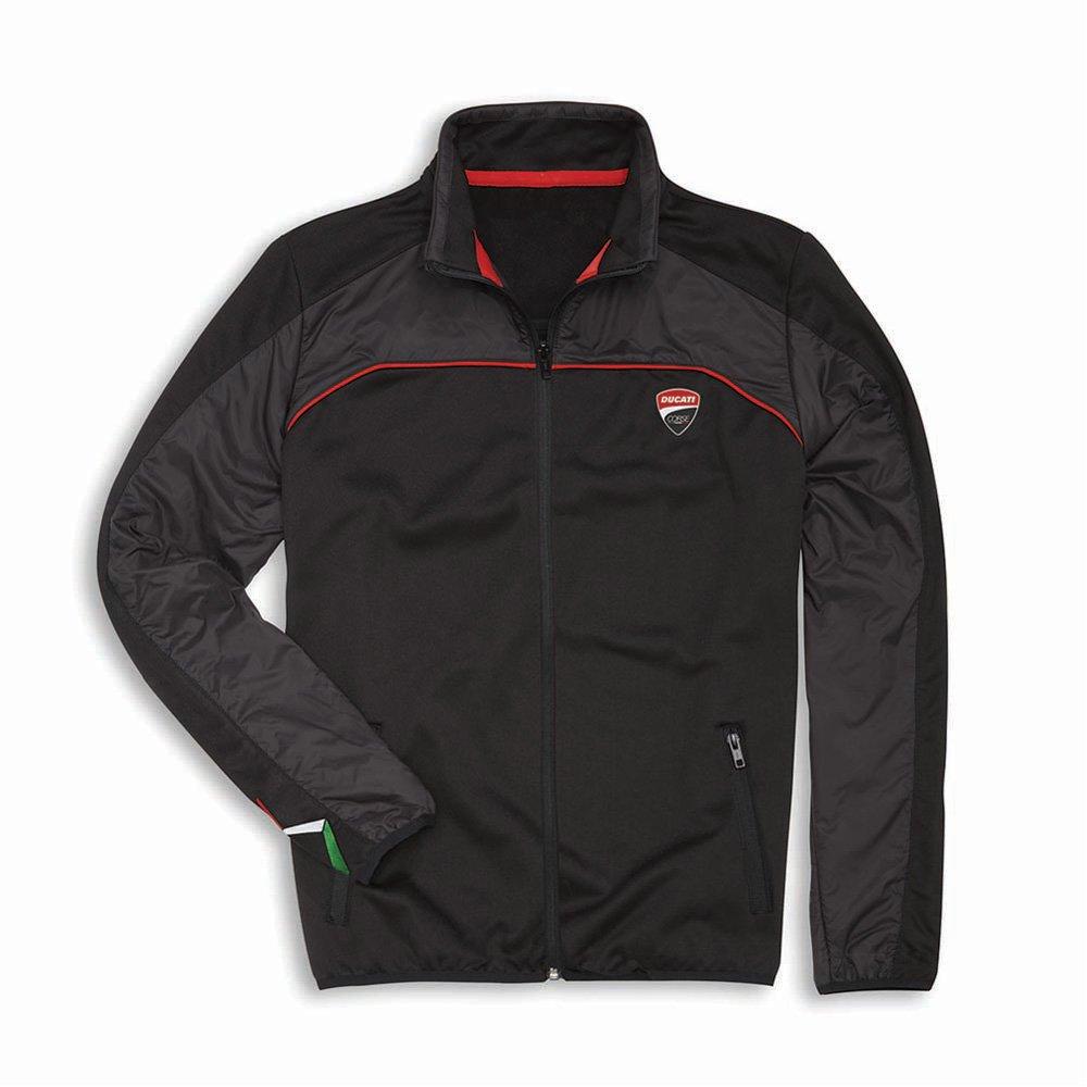 Ducati Corse Speed Fleece Full Zip Jacket (LG)