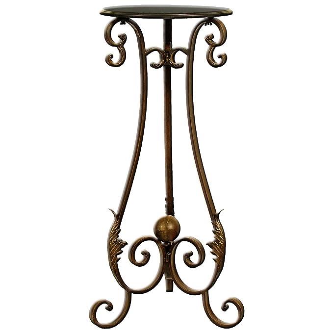 Gozo lámpara de Mesa, Metal, Bronce, 33,3 x 33,3 x 80,5 cm ...