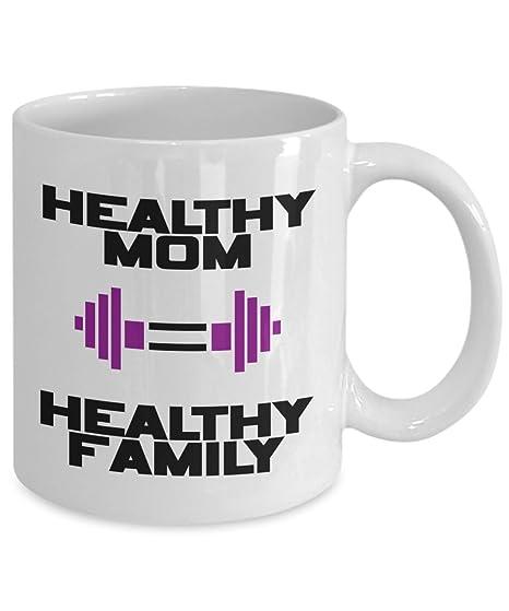 Amazon.com: Taza de café inspiracional – La madre sana es ...