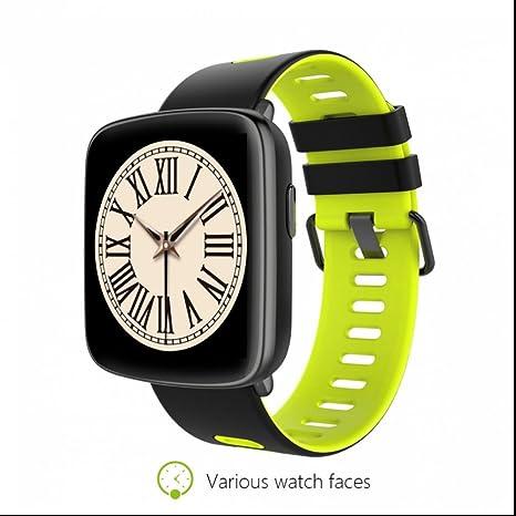Smart Watch,Teléfonos Inteligentes Reloj Inteligente con Contador de Calorias/ Monitor de Sueño/