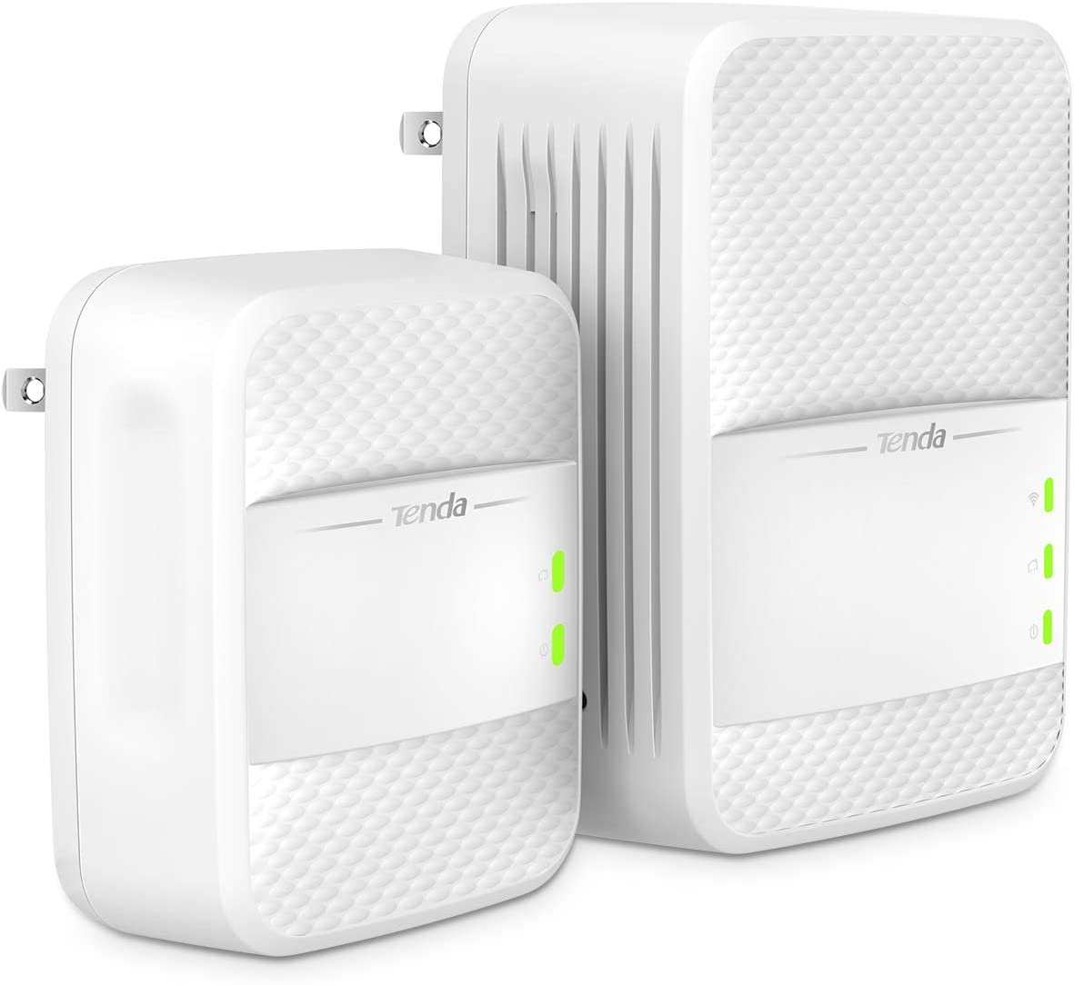 Tenda AV1000 Powerline Wi-Fi Extender, Dual Band AC Wireless, Gigabit Port, Plug and Play (PH10)