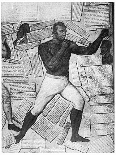 Boxing Thomas Molineaux Nthomas Molineaux One Of AmericaS First Black Boxers Featured On A Detail From Lord ByronS Screen Compiled From Clippings And Illustrations From Pierce EganS Boxiana Or Sketche