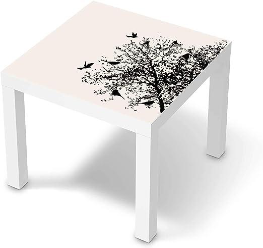 creatisto Wandtattoo Möbel passend für IKEA Lack Tisch 55x55 cm I Möbeldeko Möbel Sticker Aufkleber Folie I Innendekoration für Schlafzimmer und