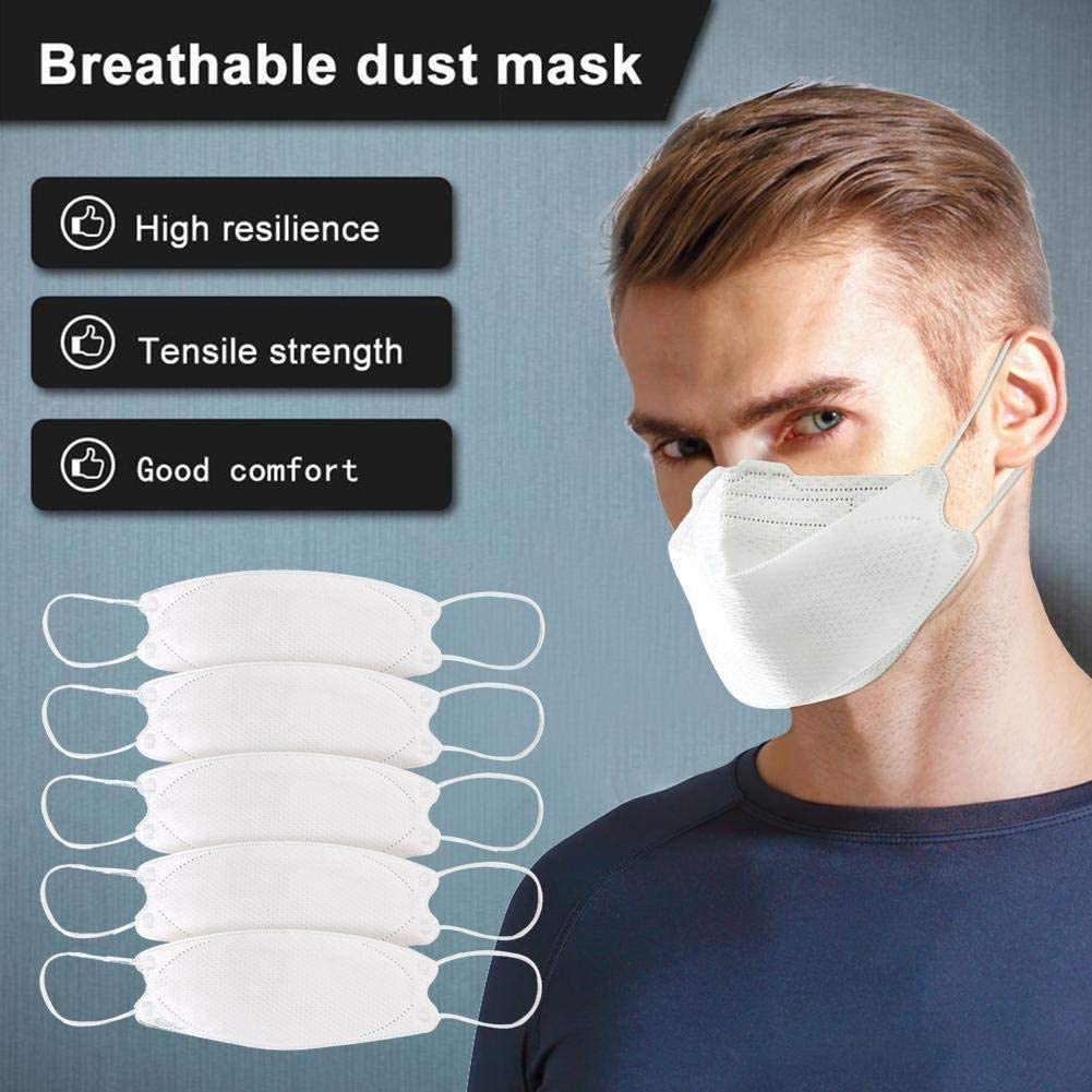 dSNAPoutof KF94 PM2.5 Dustproof Anti Haze Bacteria COVID-19 Protective Face Mouth Mask Black