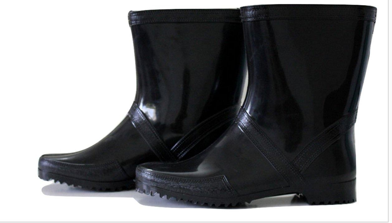 cc15c042f78 WONDER Unisex Black Gumboot