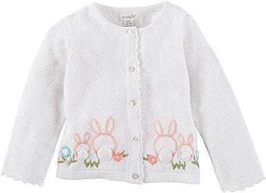 Mud Pie Baby Girls Bunny Shortall Infant