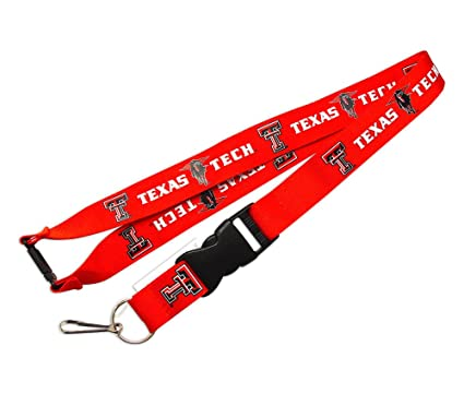 Amazon.com: Texas Tech Raiders Clip Lanyard Llavero ID ...