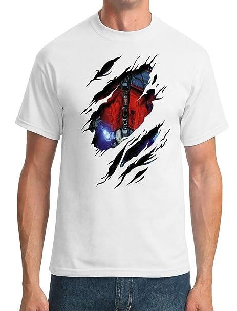 Optimus Prime diseño de comprimidos de - Transformers inspirado en un Soldado Imperial - para hombre T-camiseta de manga corta: Amazon.es: Ropa y accesorios