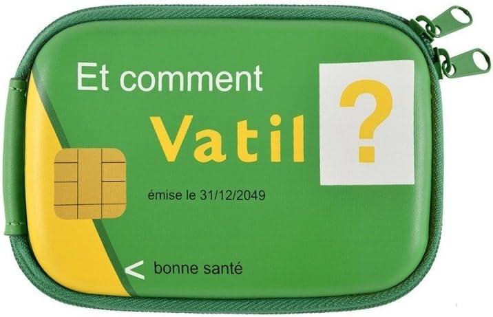 Derrière la porte - Estuche para medicamentos [Texto en francés], Color Verde: Amazon.es: Hogar
