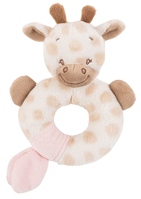 NATTOU Chaussons d'éveil Charlotte la girafe ZhTxtsM