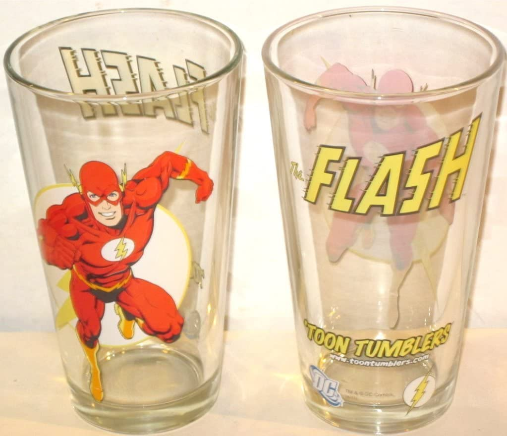 Aquaman Toon Tumbler 16oz Cup New Toys TT0093 DC Comics Pint Glass